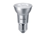 Lampe LED PAR20 6W 230V E27 2700K 40° 515lm 25000H gradable • PHILIPS-lampes-led