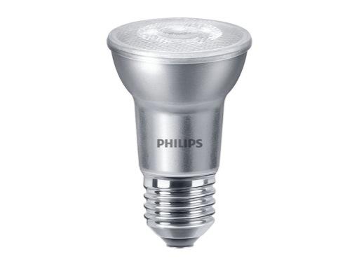 PHILIPS • LED PAR20 6W 230V E27 3000K 40° 515lm 25000H gradable