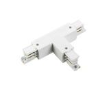 Global Trac Pro coupleur en T extérieur droit blanc-eclairage-archi--museo-