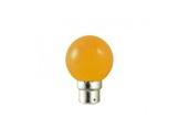 Lampe LED sphérique guirlande orange 1W 230V B22d IP20-lampes-led