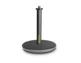 GRAVITY • Pied de table noir embase circulaire 130 mm, hauteur 200 mm-audio