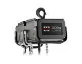Palan électrique 2000 kg D8 400V DC DB 4m/mn à deux brins de chaîne • EXE-palans