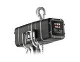 Palan électrique 250 kg D8 400V DC DB 4m/mn à un brin de chaîne • EXE-palans