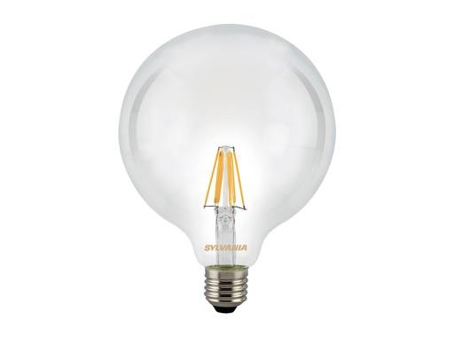 SLI • LED RETRO Globe claire 7,5W 230V E27 2700K 1000lm 15000H