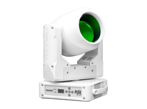 Lyre Wash PIXIEWASH, LED 1 x 60 W Full RGBW zoom 6-50° blanche • PROLIGHTS