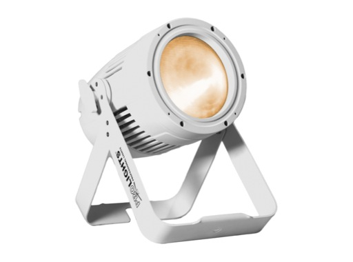 PAR LED IP65 STUDIOCOBPLUSTU Blanc chaud 3000 K finition blanche • PROLIGHTS