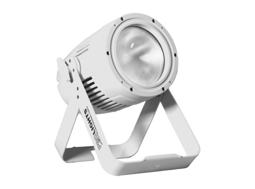 PROLIGHTS • PAR LED STUDIOCOBPLUSDY Blanc froid 5000 K IP65 finition blanche