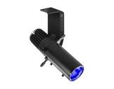 Découpe LED GALLERY ECLIPSE 60 W zoom 19-36° RGBW finition noire • PROLIGHTS-cadreurs-et-projections-gobos