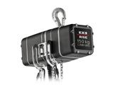Palan électrique 150 kg D8+ 400V DC DB 4m/mn à un brin de chaîne • EXE-palans