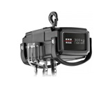 EXE • Palan 300 kg D8+ 400V DC DB 4m/mn à un brin de chaîne-structure--machinerie