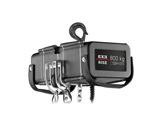 Palan électrique 800 kg D8+ 400V DC DB 4m/mn à un brin de chaîne • EXE-palans