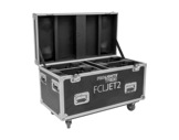 PROLIGHTS TRIBE • Flight case pour 4 lyres JETSPOT2 ou JETBEAM2-eclairage-spectacle