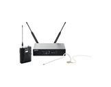 SHURE • Système HF complet, micro tour d'oreille cardioïde MX153T, série QLXD-audio