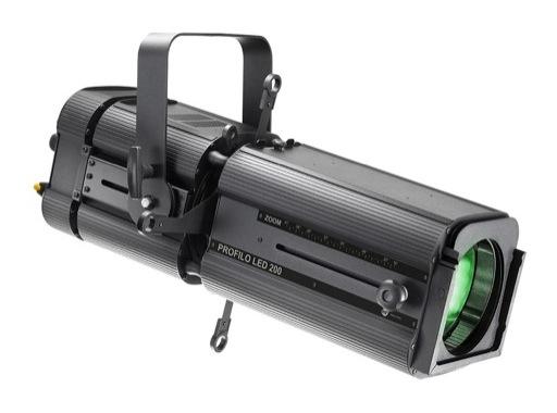 DTS • Découpe PROFILO LED 200 Full RGBW 200 W zoom 19 / 41 °
