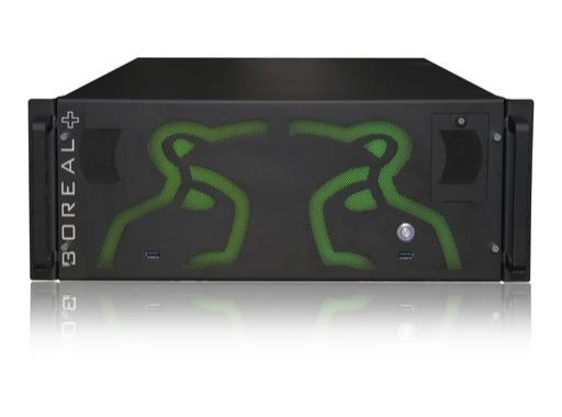 GREEN HIPPO • Server BOREAL+ 4 sorties SDI