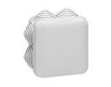 LEGRAND • Boite PLEXO carrée grise 65x65x40 7 embouts-cablage