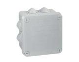LEGRAND • Boite PLEXO carrée grise 105x105x55 7 embouts-cablage