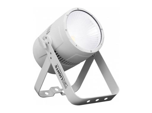Projecteur PAR LED STUDIOCOB PROLIGHTS 100 W blanc froid 5 000 K finition chrome