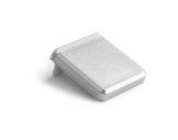ESL • Embout plein teinte métal pour profilé gamme GIZA SQUARE-accessoires-de-profiles-led-strip