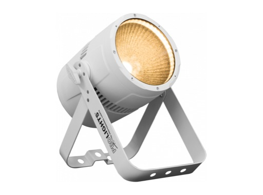 Projecteur PAR LED STUDIOCOB PROLIGHTS 100 W blanc chaud 3 100 K finition blanch