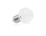 LED sphérique guirlande blanc froid 1W 230V E27-lampes