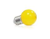 LED sphérique guirlande jaune 1W 230V E27-lampes