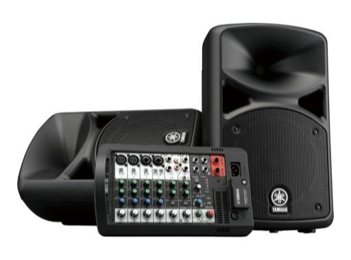 YAMAHA • Système amplifié portable 2 x 200 W, Bluetooth