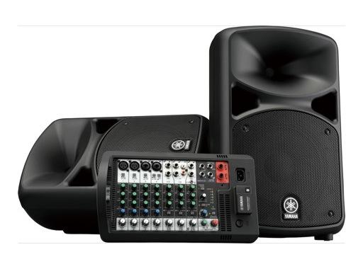 YAMAHA • Système amplifié portable 2 x 340 W, Bluetooth