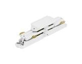 Global Trac coupleur droit blanc pour rail 3 allumages + DATA-alimentations-et-accessoires