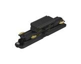 Global Trac coupleur droit noir pour rail 3 allumages + DATA-alimentations-et-accessoires