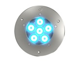 DTS • Projecteur EOS 6 FC encastré 6 LEDs Full RGBW 22° IP65 gris anthracite-encastres-de-sol-et-appliques-murales