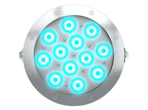 DTS • Projecteur immergeable DIVE 12 en saillie 12 LEDs Full RGBW 27° IP68