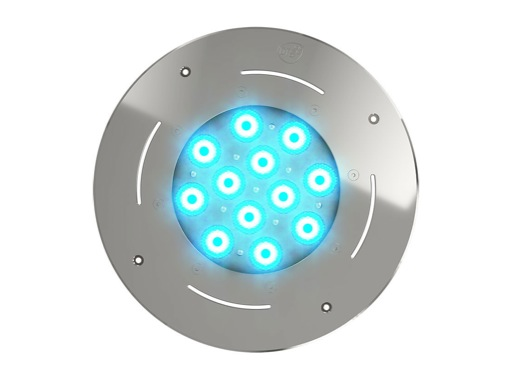DTS • Projecteur immergeable DIVE 12 encastré 12 LEDs Full RGBW 27° IP68