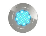 Projecteur immergeable DIVE 12 encastré 12 LEDs Full RGBW 27° IP68 • DTS-projecteurs-immergeables