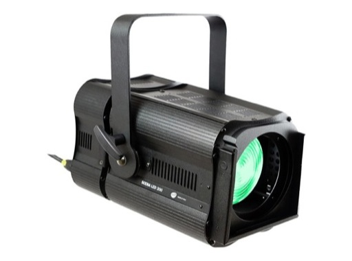 Projecteur Fresnel LED DTS SCENA LED 200 full RGBW avec zoom