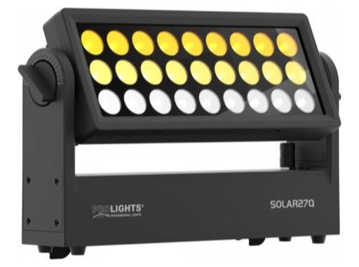 PROLIGHTS • Dalle à LEDs SOLAR27Q 27 x 10 W RGBW IP65