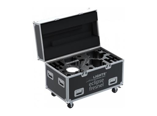 PROLIGHTS • Flight case pour 4 projecteurs ECLIPSEFRESNEL