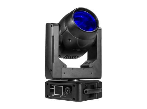 PROLIGHTS • Lyre Beam asservie RUBY FCX, LED Full RGB 1 x 50 W, 2°