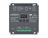 ESL • Driver ledstrip boitier métal DMX RDM 8-16bit afficheur 5x5A-controleurs-led-strip