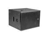 """DAD • ARK112SA SUB amplifié noir 1 x 12"""" pour colonne DAD001, DAD002 série ARK-audio"""