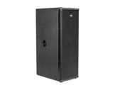 """DAD • ARK2V8SA SUB amplifié noir 2 x 8"""" pour colonne DAD001, DAD002 série ARK-audio"""