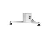 DAD • ARKBASE base métal blanche pour colonne DAD002WH, DAD001WH série ARK-accessoires
