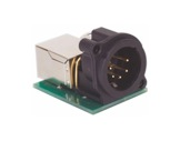 ARTISTIC LICENCE • HENRY adaptateur RJ45 -> XLR5 mâle pour installation-controle