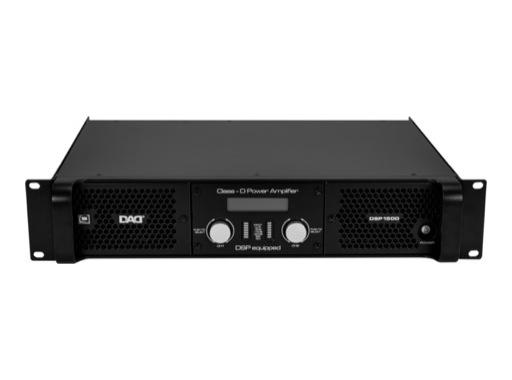 DAD • DSP1500 Amplificateur avec DSP 2 x 800 W / 4 Ohm