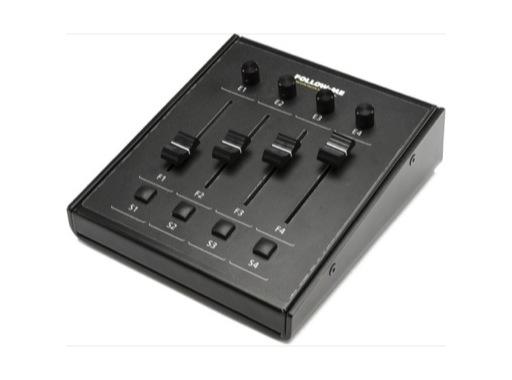 FOLLOW-ME • Mini contrôleur 4 faders pour logiciel FOLLOW-ME