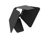 CLS • JADE EXPO Volets rotatifs noir (int.noir)-eclairage-archi--museo-