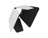 CLS • JADE EXPO Volets rotatifs blancs (int.noir)