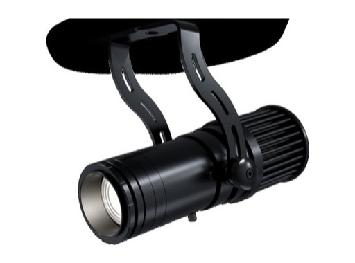 DTS • Projecteur Fresnel ARTEMIO LED 1 x 25 W 3 000 K zoom 14 - 42° noir