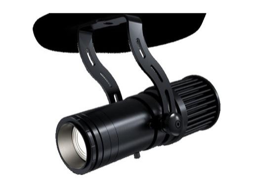 Projecteur Fresnel ARTEMIO LED 1 x 25 W 5 000 K zoom 14 - 42° noir • DTS