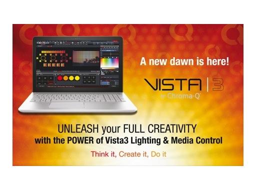 VISTA BY CHROMA-Q • Dongle USB 4 096 circuits (8 univers) pour VISTA